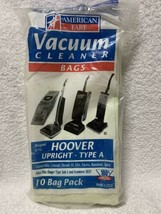 American Fare Vacuum Cleaner Bags Hoover Upright Type A. 8 Bags - $13.85