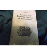 Hallock's Starting and Lighting Systems of Automobiles pub 1922 - $20.00