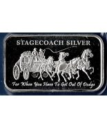 1 oz .999 Pure Silver Bullion  Bar Prf Finish - $40.00