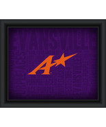 "University of Evansville ""College Logo Plus Word Clouds"" - 15 x 18 Frame... - $49.95"