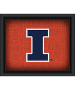 "University of Illinois ""College Logo Plus Word Clouds"" - 15 x 18 Framed ... - $49.95"