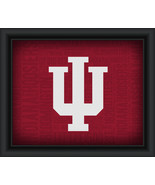 "University of Indiana ""College Logo Plus Word Clouds"" - 15 x 18 Framed P... - $49.95"