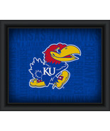 "University of Kansas ""College Logo Plus Word Clouds"" - 15 x 18 Framed Print - $49.95"