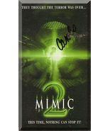 VHS - Mimic 2 (2001) *Alix Koromzay / Gaven Eugene Lucas / Rare Sci-Fi T... - $4.49