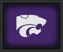 "Kansas State University ""College Logo Plus Word Clouds"" - 15 x 18 Framed Print - $49.95"