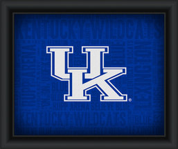 "University of Kentucky ""College Logo Plus Word Clouds"" - 15 x 18 Framed Print - $49.95"