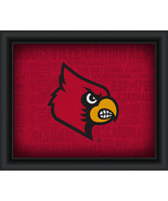 "University of Louisville ""College Logo Plus Word Clouds"" - 15 x 18 Frame... - $49.95"