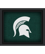 "Michigan State University ""College Logo Plus Word Clouds""-15 x18 Framed ... - $49.95"