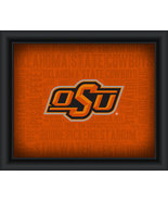 "Oklahoma State University ""College Logo Plus Word Clouds"" - 15 x 18 Fram... - $49.95"