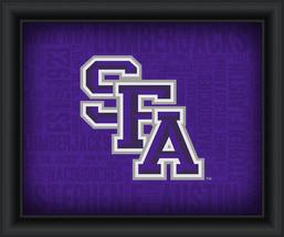 "Stephen F. Austin University ""College Logo Plus Word Clouds""-15 x18 Framed Print - $49.95"
