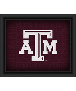 "Texas A&M University ""College Logo Plus Word Clouds"" - 15 x 18 Framed Print - $49.95"