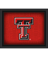 "Texas Tech University ""College Logo Plus Word Clouds"" - 15 x 18 Framed P... - $49.95"