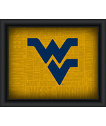 "West Virginia University ""College Logo Plus Word Clouds"" - 15 x 18 Frame... - $49.95"