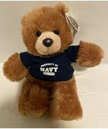 Chelsea Teddy Bear Co Plush NAVY Brown Stuffed Animal Navy Outfit Buster - $16.99