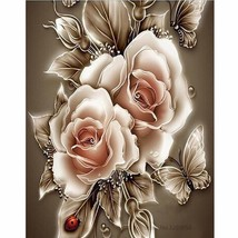 "Art Flower 16X20"" Painting By Number Kit DIY Acrylic Painting on Canvas ... - $8.90"