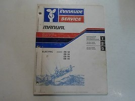 1977 Evinrude Service Shop Repair Manual Electric EB 52 54 82 84 OEM Boa... - $14.38