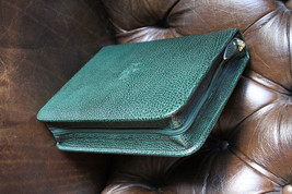 pheasant by R.D.Gomez Zippered Green  Case - $125.00