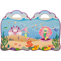 Melissa Doug Puffy Sticker Activity Book: Mermaids - 65 Reusable Stickers - $26.98