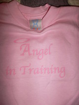 """Toddler T-Shirt """"Angel in Training"""" - Size 2T - A Pink Tee for Your Ange... - $2.95"""