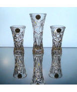 Lenox Fine Crystal Star Vases Collection Set of 3 - $15.99