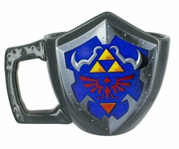 Paladone The Legend of Zelda Hylian Shield Ceramic Collectors Coffee Mug NEW