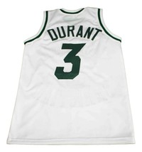 Kevin Durant #3 Montrose Christian New Men Basketball Jersey White Any Size image 4