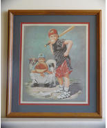 Framed Wayne Neal Little League Baseball Print   - $5.99