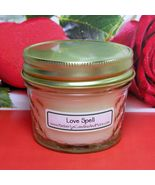 Lovespell (Type) PURE SOY 4 oz. Soy Jelly Jar Candle - $5.25