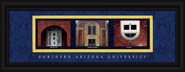 Northern Arizona University Officially Licensed Framed Letter Art-Flagst... - $39.95