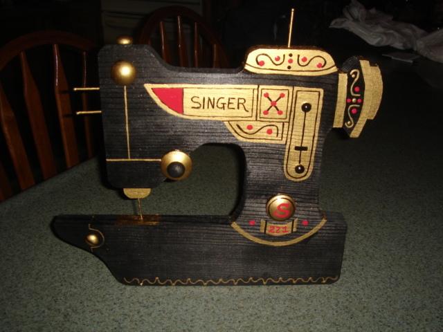 New version of singer peg rack