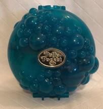 Vintage POLLY POCKET BUBBLY BATH Bluebird Compact Mattel 1996 Case Only - $19.79