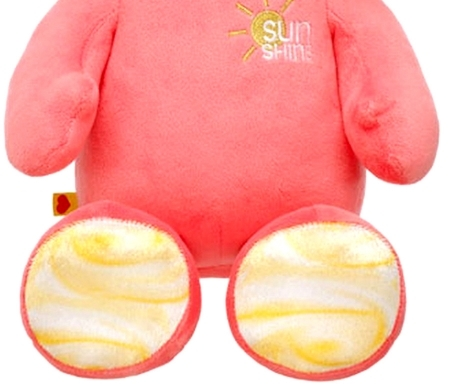 Build a Bear Hello Kitty Sunshine Coral 18 in. with Yellow Smallfrys Plush Set