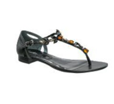WOMEN'S JRS CHARLES BY CHARLES DAVID JACINDA EMBELLISHED SANDALS BLACK N... - $58.99