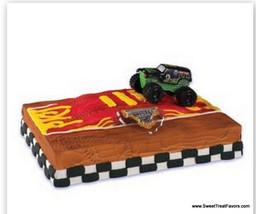 Monster Jam Truck Cake Party Birthday Supplies Decoration Cupcake Kit Ca... - $12.95