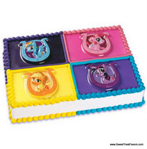 My Little Pony Cake Decoration Party Supplies Horse KIt Plac x4 Birthday Horse - $5.95