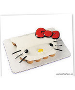 Hello Kitty Cake Decoration Topper Party Supplies Kit Cupcake Plac Decor... - $5.89