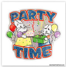 Max And Ruby Cake Topper Party Birthday Pop Top Rabbit Cupcake Plac Decoration Nw - $8.95