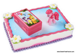 MY LITTLE PONY Cake Decoration Top Party Favors Kit Decoration Cupcake Horse Kid - $8.86
