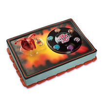 BAKUGAN CAKE Decoration Topper Party Kit Party Supplies Birthday Snake Game Boy - $12.95