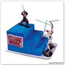 STAR WARS CLONE WARS Cake Decoration ANAKING Party Favor KIT Favor Decor... - $32.95