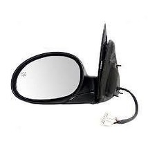 Fits 01-03 Pt Cruiser Left Driver Mirror Power Textured Black Folding With Heat - $48.95