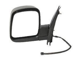 Fits 03-07 Chev Express GMC Savana Left Driver Power Mirror Manual Fold W/Heat - $53.95
