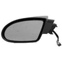 Fits 93-02 Camaro Left Driver Mirror Power Non-Painted Smooth Black - $55.95