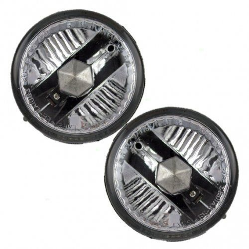 Fits 04-09 Prius 00-05 Echo 00-05 MR2 04-05 Scion XA Left & Right Fog Lamps pair