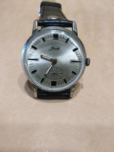 Vintage ZIM  mens wrist watch  vintage 15 Jewels 1960s Original USSR  - $38.00