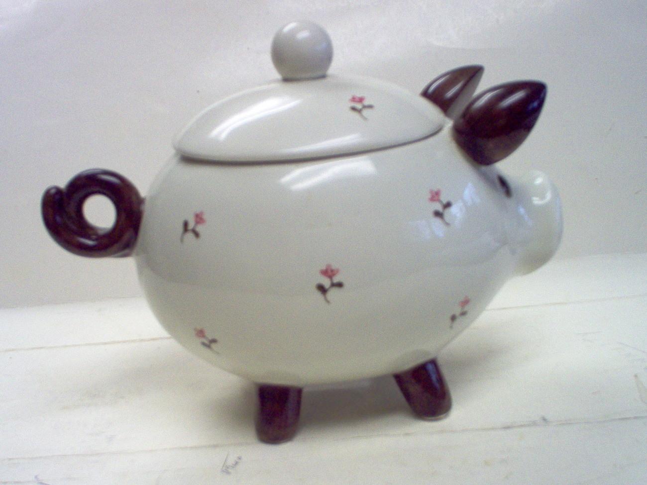 OTAGIRI PIG JELLY BEAN/NUT JAR