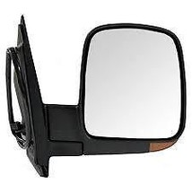 Fits 03-07 Chev Express GMC Savana Left Driver Pwr Mirror Heat, Signal, Man Fold - $61.95