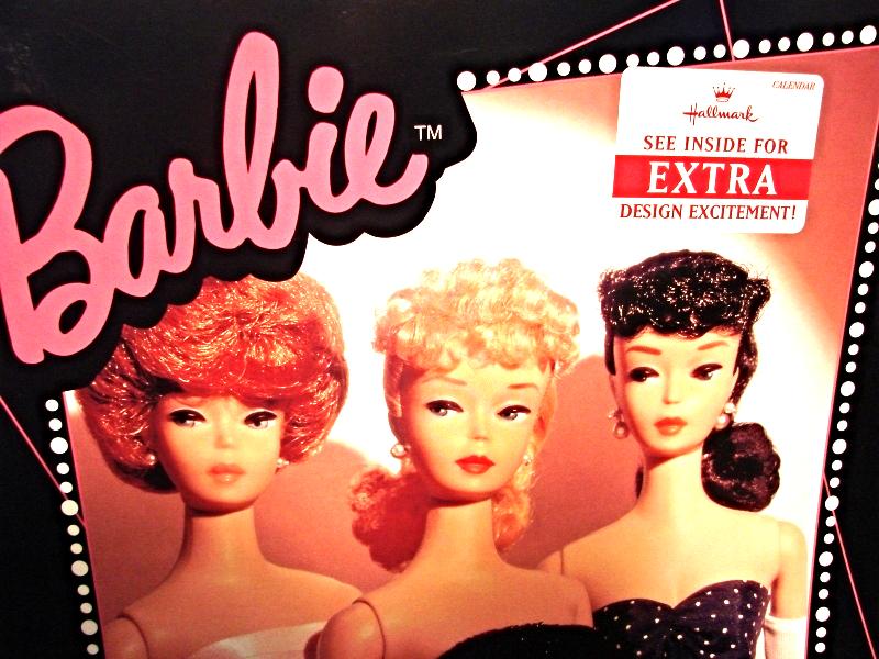 1996 Hallmark Barbie Calendar - $19.00