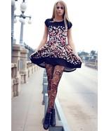 Fashion Mic Women's Sunny Sunflower Fishnet Pantyhose - 828DY739 - $8.99