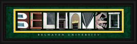 Bellhaven University Officially Licensed Framed Letter Art - $39.95